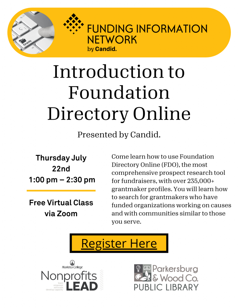 Introduction to Foundation Directory Online